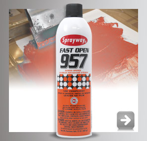 Sprayway Fast Open 957 for Screenprinting
