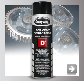 Sprayway Solvent Degreaser